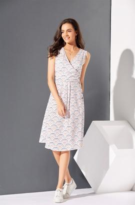 New Polka Dot Print Dress NSSE36091