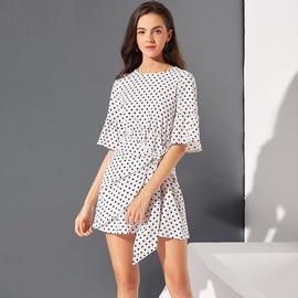 Summer New Polka Dot Print Dress  NSSE36093