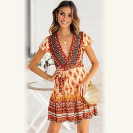Fashion New Print One-piece Dress NSSE36108