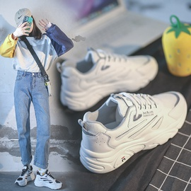 Casual Thick-soled Reflective Sports Shoes  NSSC36207