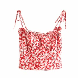 Casual Simple Small Sling Top   NSLD36407