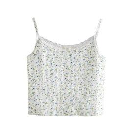 Floral Print Small Vest  NSLD36409