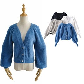 Fashion Casual Simple Solid Color Sweater NSLD36428
