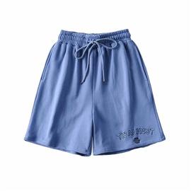 Fashion Letter Embroidery High Waist Slim Jogging Pants NSLD36454