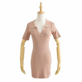 Short Sleeve Summer Fashion Lapel Skirt NSLD36460