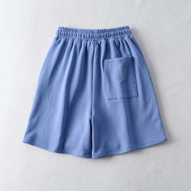 New Wide Leg Embroidery Loose Jogging Casual Sports Shorts NSAC36495