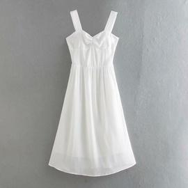 Slim Waist Suspender Skirt  NSAC36498