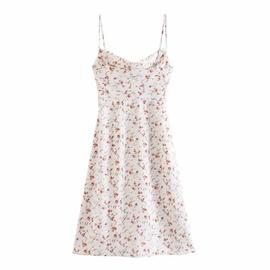 Summer New Style Printed Slim Sexy Suspender Dress NSAC36504