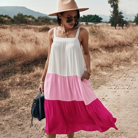 Sling New Spring And Summer Big Swing Dress NSDY36599