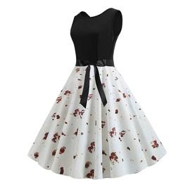 Summer Printed Sleeveless Dress  NSJR36710