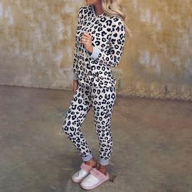 Loose Hooded Long Sleeve Printing Fashion Casual Set NSKX36794
