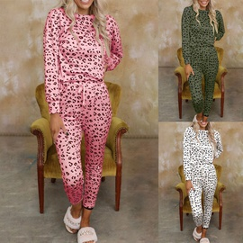 Long-sleeved Printed Casual Home Service Set NSKX36820