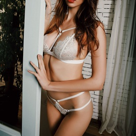 Sexy Lace Three-point Lingerie Set NSYF36842