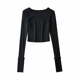 Fake Two-piece Long-sleeved Sweater  NSLD36870