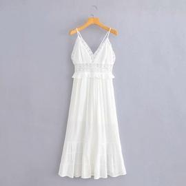 New Sexy V-neck Strap Lace Dress NSAM36916