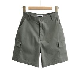 New Five-point High Waist Pocket Cargo Shorts NSHS36987