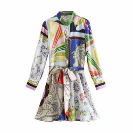 New Style Printed Mini Dress  NSAM37167
