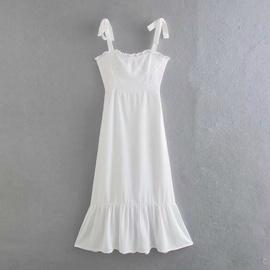 Floral Lace Sling Pastoral Dress  NSAM37168