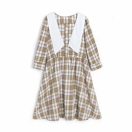 Fashion Casual Spring Plaid Dress  NSAM37175