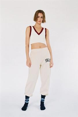 Color Matching Temperament V-neck Knitted Vest  NSLD37203