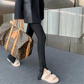 Fashion Black Pencil Pants  NSAC37238