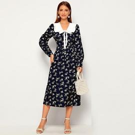 New Floral Mid-length Dress  NSXS37362