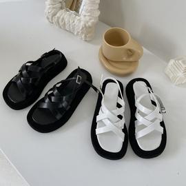 New Cross Strap Shoes NSHU37593