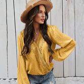 Verano Nueva Moda Casual Camisa Simple NSKA37610