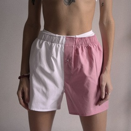 Color Matching Casual Simple Shorts NSXE37651