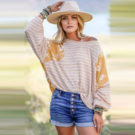 Round Neck Long-sleeved T-shirt  NSHZ37927