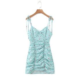 Spring Print Bag Hip Sexy Dress NSAM37981