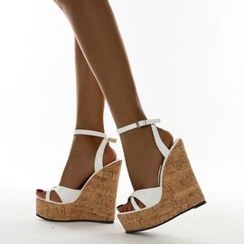 High-heeled Wedge Open-toe Sandals  NSCA38208
