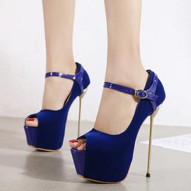 Stiletto Heels Buckle Shoes  NSCA38214