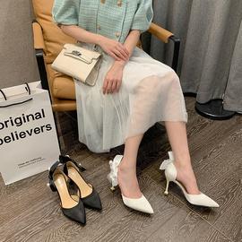 High Heel Rhinestone Bow Shoes NSCA38233