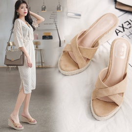 Fashion High Heel Slippers NSCA38242