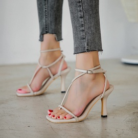High-heeled Fashion Sandals  NSCA38243