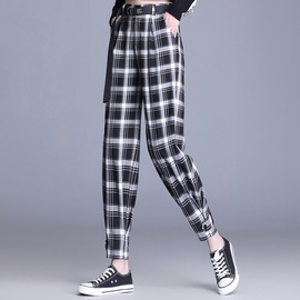 Spring And Summer New Lattice Harem Pants  NSYZ34592
