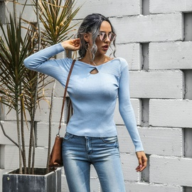 Fashion Casual Long-sleeved Knit Sweater  NSMY34830