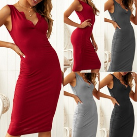 Casual Sexy Sleeveless Dress  NSDY34877
