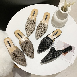 Pointed Toe Fashion Flat Slippers  NSPE34987