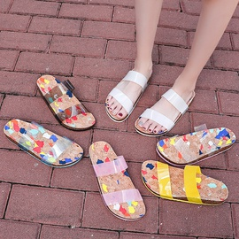 Transparent Fashionable Comfortable Slippers  NSPE34989