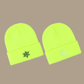 Fashion Wild Fluorescent Knitted Hat   NSTQ34708