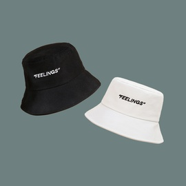 Fashion Embroidered Letter Fisherman Hat  NSTQ34712