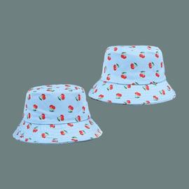 Fashion Cute Cherry Print Fisherman Hat  NSTQ34713
