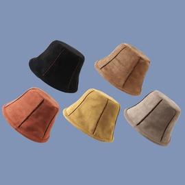 Fashion Retro Suede Fisherman Hat  NSTQ34715