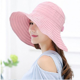 Pleated Empty Top All-match Hat NSTQ34719
