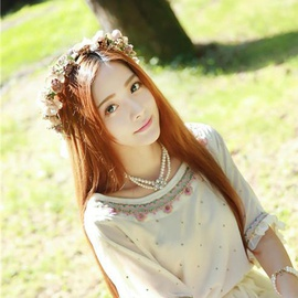 Flower Romantic Wreath Headband  NSTQ34752