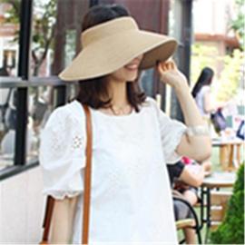 Sunshade Empty Top Straw Hat  NSTQ34753