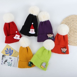 Christmas Thickened Knitted Woolen Hat   NSTQ34755