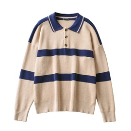 Casual Fashion Simple Loose Pullover Sweater NSLD35157